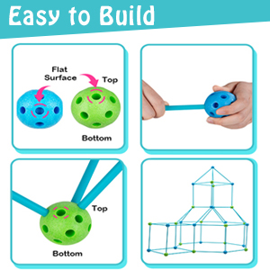 7fb0fe74 5beb 41d4 9ec0 1e41ed9ee7d3.  CR0,0,300,300 PT0 SX300 V1    - Obuby Kids Fort Building Kit Construction STEM Toys for 5 6 7 8 9 10 11 12 Years Old Boys and Girls Ultimate Forts Builder Gift Build DIY Building Educational Learning Toy for Indoor & Outdoor