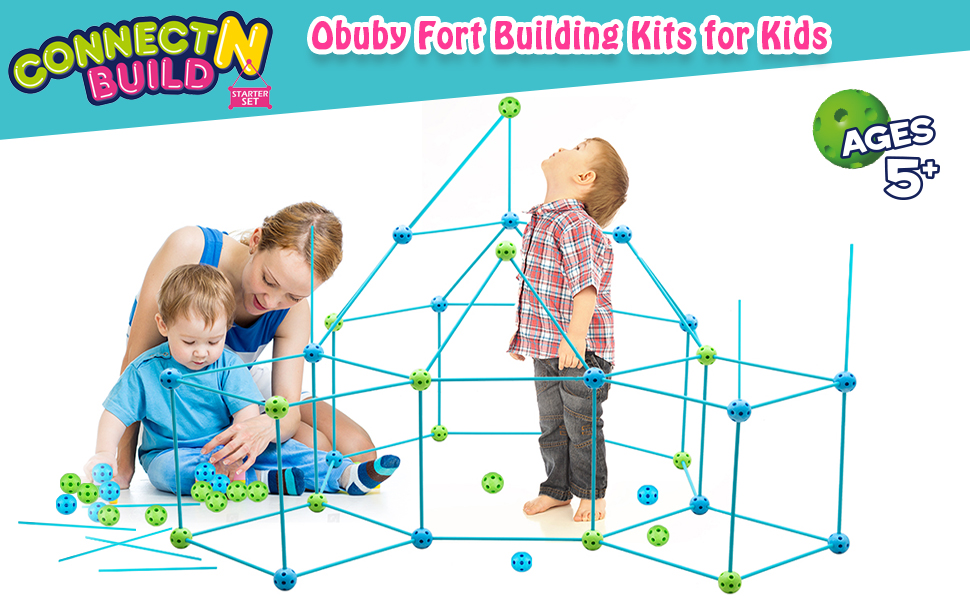 850bad22 619e 42b3 9b7b bb13dcb2bc44.  CR0,0,970,600 PT0 SX970 V1    - Obuby Kids Fort Building Kit Construction STEM Toys for 5 6 7 8 9 10 11 12 Years Old Boys and Girls Ultimate Forts Builder Gift Build DIY Building Educational Learning Toy for Indoor & Outdoor