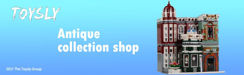 8be6bec9 12aa 4751 8b68 df4ecaa766e1.  CR0,0,970,300 PT0 SX970 V1    - TOYSLY Street Antique Collection Shop MOC Building Blocks and Engineering Toy, Construction Set to Build, Model Set and Assembly Toy for Teens and Adult 3037 Pieces
