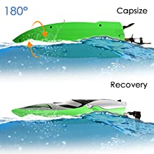 9a299316 4e06 4656 910d a084418c70e7.  CR0,0,300,300 PT0 SX220 V1    - RC Boat [Upgraded 2021] - SHARKOOL 2.4 GHZ 25+ MPH Remote Control Boat, Fast RC Boats for Adults and Kids, Remote Controlled Boat for Pools and Lakes with 2 Rechargeable Batteries
