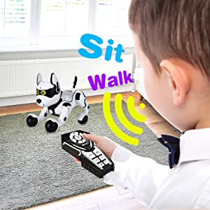a2a3c10d 8ce9 4369 b9fa 34ab009ad16f.  CR0,0,2000,2000 PT0 SX300 V1    - Contixo R4 IntelliPup Robot Dog, Walking Pet Toy Robots for Kids, Remote Control, Interactive & Smart Dancing Dance, Voice Commands, RC Dog for Gift Toy for Girls & Boys Ages 2,3,4,5,6,7,8,9,10 Years