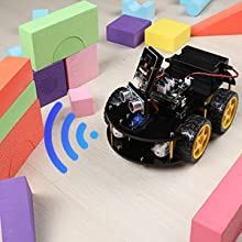 b0b9510e 1dd6 4696 81a9 9348dcea8b10.  CR0,0,300,300 PT0 SX220 V1    - ELEGOO UNO R3 Project Smart Robot Car Kit V4.0 with UNO R3, Line Tracking Module, IR Remote Control Module etc. Intelligent and Educational Toy Car Robotic Kit Compatible with Arduino Learner