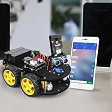 c50e39e1 f1e6 47e1 8e0b 42677d65b34e.  CR0,0,300,300 PT0 SX220 V1    - ELEGOO UNO R3 Project Smart Robot Car Kit V4.0 with UNO R3, Line Tracking Module, IR Remote Control Module etc. Intelligent and Educational Toy Car Robotic Kit Compatible with Arduino Learner