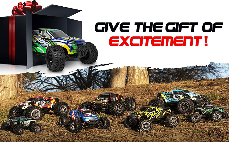 cae48692 9ded 475c 97f4 5fbc177efe6a.  CR0,0,3880,2400 PT0 SX970 V1    - 1:10 Scale Brushless RC Cars 65 km/h Speed - Boys Remote Control Car 4x4 Off Road Monster Truck Electric - All Terrain Waterproof Toys for Kids and Adults - 2 Body Shells + Connector for 30+ Mins Play