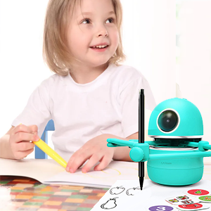 e52bff57 5beb 4fbe 8ce5 0b756948e087.  CR0,0,300,300 PT0 SX300 V1    - LANDZO Robot Toy for Boys Age 4-5 Kids, Automatic Smart Robot Artist, Remote Control Toy with Kids Gifts
