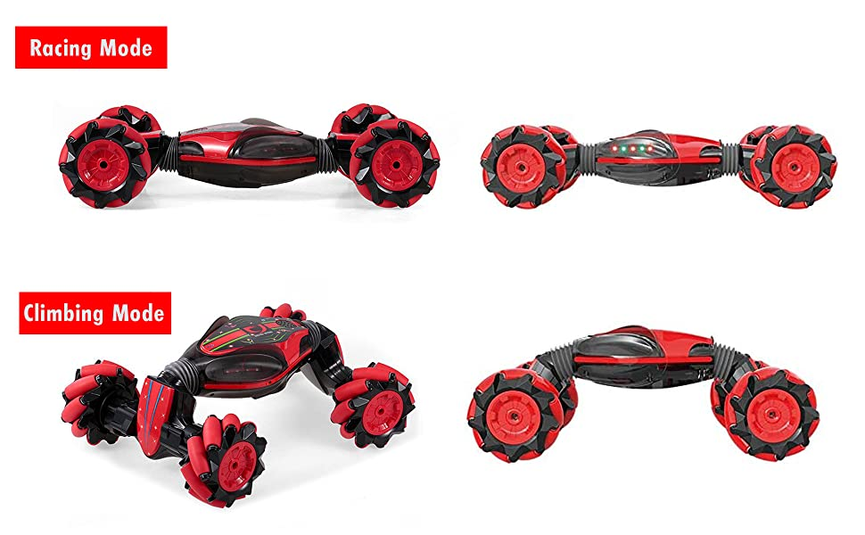 f252042d bc3b 490f be07 3424302a6d9d.  CR0,0,1940,1200 PT0 SX970 V1    - Boxgear Gesture Sensing RC Stunt Car with Off-Road, Four-Wheel Drive, Sports Mode, 40 Min Standby Suitable for Any Terrain, 2.4G Gesture Controlled Double-Sided Remote-Control Car Toy for Kids, Blue