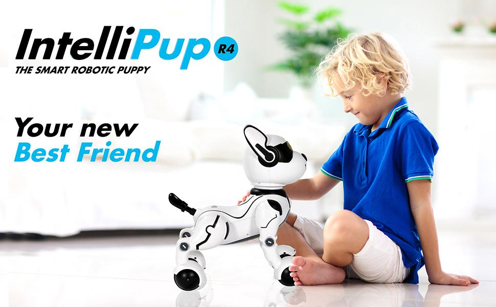 f44aab4d 1de8 4211 81f7 8278f6299189.  CR0,0,970,600 PT0 SX970 V1    - Contixo R4 IntelliPup Robot Dog, Walking Pet Toy Robots for Kids, Remote Control, Interactive & Smart Dancing Dance, Voice Commands, RC Dog for Gift Toy for Girls & Boys Ages 2,3,4,5,6,7,8,9,10 Years