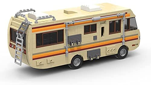 416oPLTwgXS. AC  - Breaking Bad RV Building Blocks, Creative House Car Building Bricks Kit Model for Gifts, Educational DIY Building Set Toy for Decoration Party Birthday Festival and Holiday, New 2021(643 PCS)