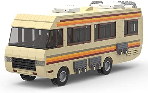 41GAnUm34tS. AC  - Breaking Bad RV Building Blocks, Creative House Car Building Bricks Kit Model for Gifts, Educational DIY Building Set Toy for Decoration Party Birthday Festival and Holiday, New 2021(643 PCS)