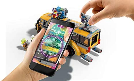 41hp7tPqXnL. AC  - LEGO Hidden Side Paranormal Intercept Bus 3000 70423 Augmented Reality (AR) Building Kit with Toy Bus, Toy App Allows for Endless Creative Play with Ghost Toys and Vehicle (689 Pieces)