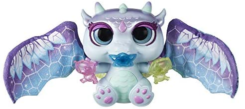 41xmUmxJDgL. AC  - FurReal Moodwings Snow Dragon Interactive Pet Toy, 50+ Sounds & Reactions, Ages 4 and Up (Amazon Exclusive)