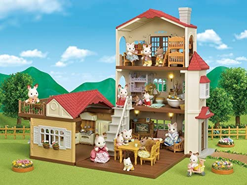 51 JbDTsSML. AC  - Calico Critters Red Roof Country Home Gift set
