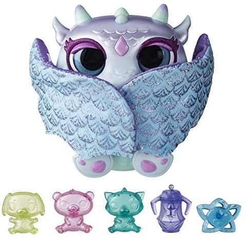 51 cRfxA29L. AC  - FurReal Moodwings Snow Dragon Interactive Pet Toy, 50+ Sounds & Reactions, Ages 4 and Up (Amazon Exclusive)