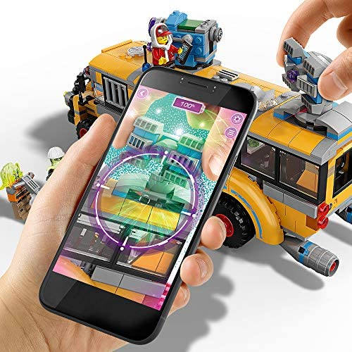 5132MxxVPoL. AC  - LEGO Hidden Side Paranormal Intercept Bus 3000 70423 Augmented Reality (AR) Building Kit with Toy Bus, Toy App Allows for Endless Creative Play with Ghost Toys and Vehicle (689 Pieces)