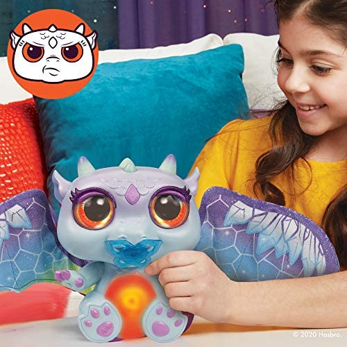 516n7VuE3LL. AC  - FurReal Moodwings Snow Dragon Interactive Pet Toy, 50+ Sounds & Reactions, Ages 4 and Up (Amazon Exclusive)