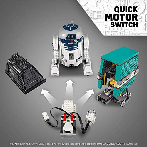 51I2Tw0rADL. AC  - LEGO Star Wars Boost Droid Commander 75253 Learn to Code Educational Tech Toy for Kids, Fun Coding Stem Set with R2 D2 Buildable Robot Toy (1,177 Pieces)