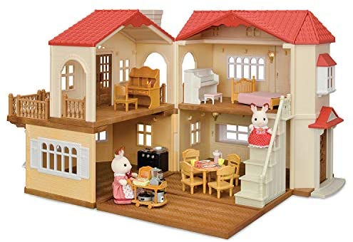 51L6RQ4At L. AC  - Calico Critters Red Roof Country Home Gift set