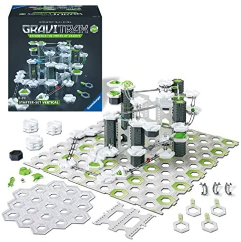 51MfAMam6HL. AC  - Ravensburger GraviTrax PRO Vertical Starter Set - Marble Run and STEM Toy for Boys and Girls Age 8 and Up - 2019 Toy of The Year Finalist GraviTrax