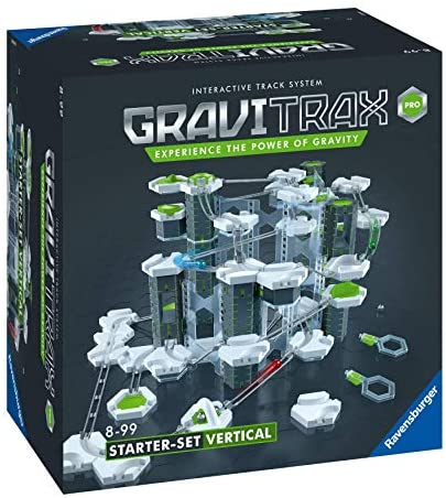 51PBWhay4dL. AC  - Ravensburger GraviTrax PRO Vertical Starter Set - Marble Run and STEM Toy for Boys and Girls Age 8 and Up - 2019 Toy of The Year Finalist GraviTrax
