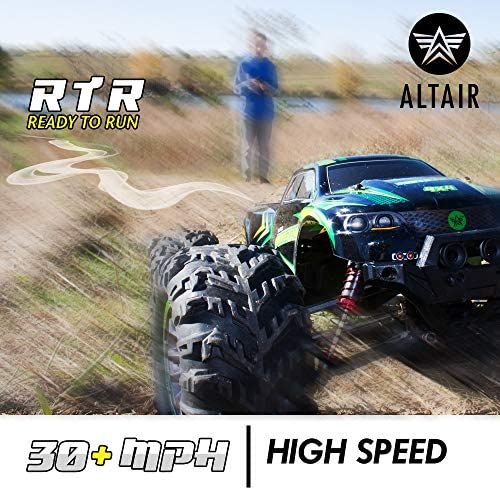 51W61u3mITL. AC  - 1:10 Scale RC Truck 4x4   48+ kmh Speed [30 MPH] Large Scale Remote Control Car   Free Priority Shipping   All Terrain Radio Controlled Off Road Monster Truck for All Ages (Lincoln, NE USA Company)