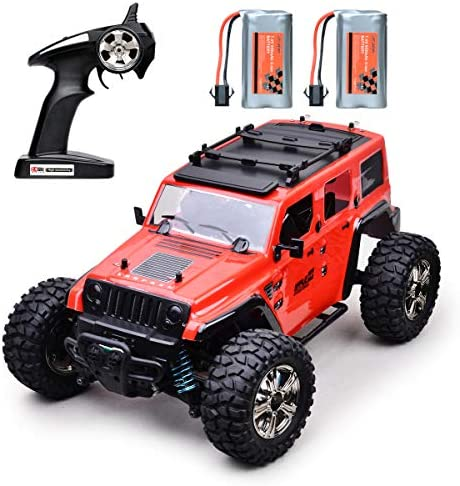 51ZscrsArlL. AC  - MDGZY RC Cars 1:14 Scale, RC Cars for Adults Kids, 35KM/H High Speed, 4WD Waterproof Offroad Toy Gift for Boys Girls, Remote Control Car 2.4Ghz All Terrain Crawler Truck with 2 Rechargeable Battery