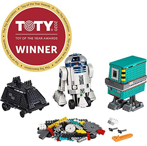 51aJht8AhjL. AC  - LEGO Star Wars Boost Droid Commander 75253 Learn to Code Educational Tech Toy for Kids, Fun Coding Stem Set with R2 D2 Buildable Robot Toy (1,177 Pieces)