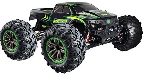 51aZTK3W5FL. AC  - 1:10 Scale RC Truck 4x4   48+ kmh Speed [30 MPH] Large Scale Remote Control Car   Free Priority Shipping   All Terrain Radio Controlled Off Road Monster Truck for All Ages (Lincoln, NE USA Company)