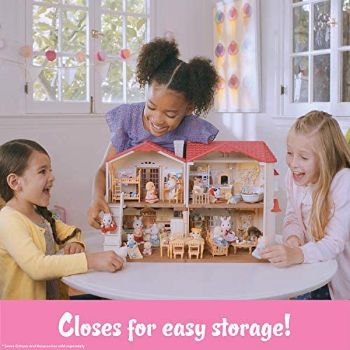 51fzbKtYtDL. AC  - Calico Critters Red Roof Country Home Gift set