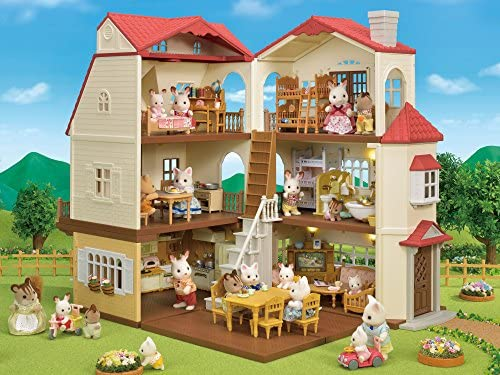51nr9bXiKfL. AC  - Calico Critters Red Roof Country Home Gift set