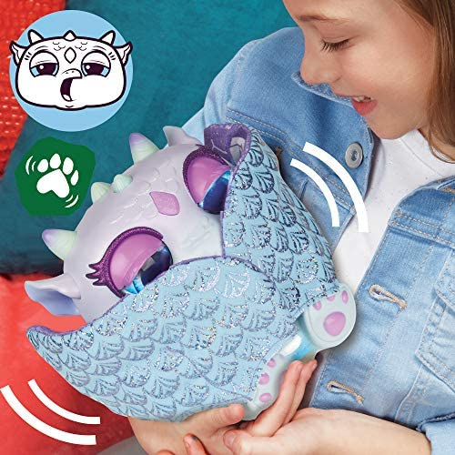 51paTLboQqL. AC  - FurReal Moodwings Snow Dragon Interactive Pet Toy, 50+ Sounds & Reactions, Ages 4 and Up (Amazon Exclusive)