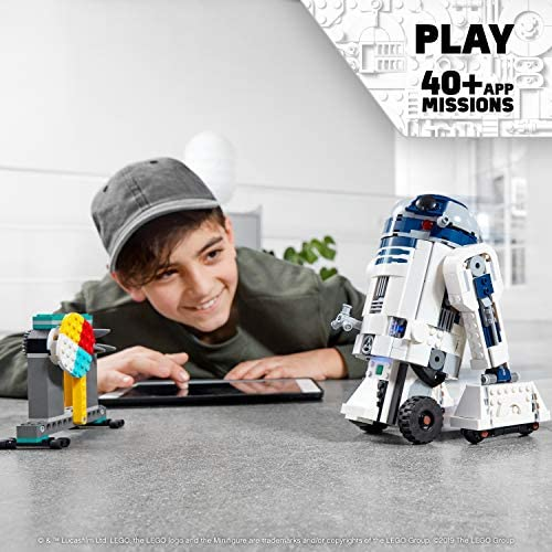 51zRmndBZvL. AC  - LEGO Star Wars Boost Droid Commander 75253 Learn to Code Educational Tech Toy for Kids, Fun Coding Stem Set with R2 D2 Buildable Robot Toy (1,177 Pieces)