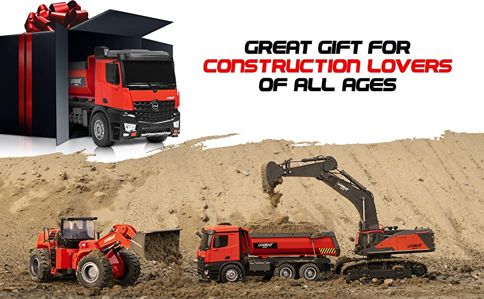 5579c0e3 a67c 4217 ad63 c7087814e43b.  CR0,0,3880,2400 PT0 SX970 V1    - 1:14 Scale Large Remote Control Dump Truck for Boys and Adults – Compatible with Excavators RC Construction Vehicles - 10 Channel Full Functional – Metal and Plastic Parts – 2 Batteries & 2 Chargers