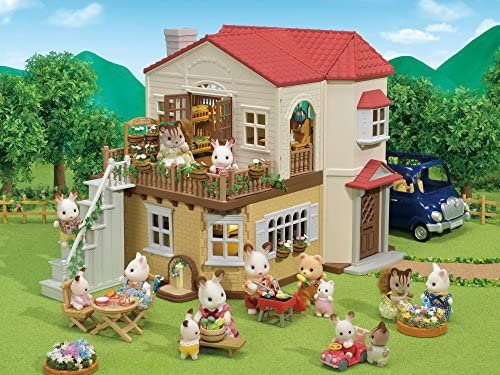 61RT3lsMaKL. AC  - Calico Critters Red Roof Country Home Gift set