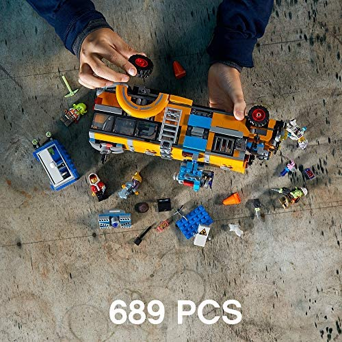 61w9eHdNxkL. AC  - LEGO Hidden Side Paranormal Intercept Bus 3000 70423 Augmented Reality (AR) Building Kit with Toy Bus, Toy App Allows for Endless Creative Play with Ghost Toys and Vehicle (689 Pieces)