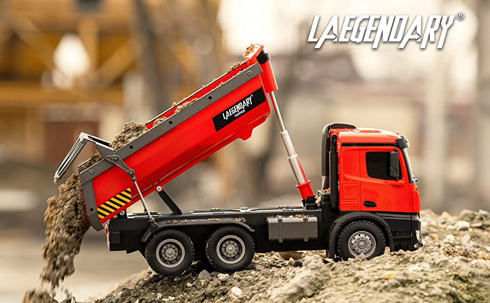 8cd60715 6eea 41cb 8d1b a8a2e85c1ca5.  CR0,0,3880,2400 PT0 SX970 V1    - 1:14 Scale Large Remote Control Dump Truck for Boys and Adults – Compatible with Excavators RC Construction Vehicles - 10 Channel Full Functional – Metal and Plastic Parts – 2 Batteries & 2 Chargers