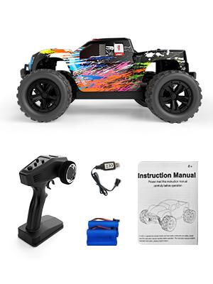 a0b88024 19e6 430d 8f4d d1fa53497d34.  CR0,0,300,400 PT0 SX300 V1    - Tecnock RC Cars RC Trucks for Kids Adults,1:18 Scale 38km/h 4WD High Speed Remote Control Car,2.4 Ghz All Terrain Remote Control Monster Truck for Boys,2 Batteries for 40 Min Play