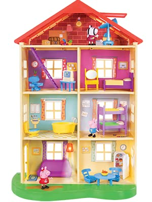 bd332a3e 76cc 45af b63c 1454013a8c4d.  CR0,4,300,400 PT0 SX300 V1    - Peppa Pig's Lights & Sounds Family Home Feature Playset