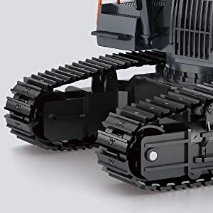 c7716a35 f0a2 477e bf3f 36d43da745a8.  CR0,0,600,600 PT0 SX300 V1    - Fistone RC Excavator with Alloy Bucket, 1/14 Scale 22 Channel Remote Control Construction Vehicles Truck Die-cast Engineering Excavator Toys for Kids and Adults