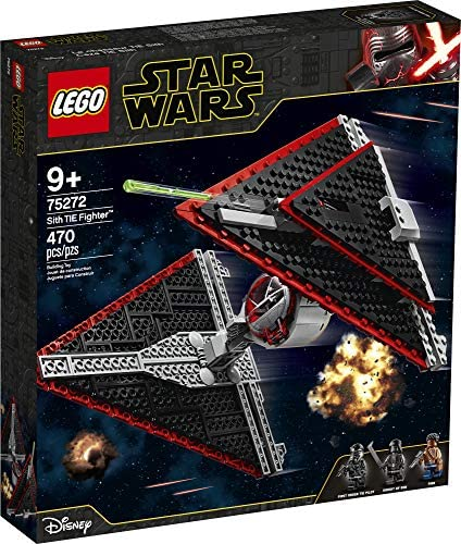51XxSbqRpvL. AC  - LEGO Star Wars Sith TIE Fighter 75272 Collectible Building Kit, Cool Construction Toy for Kids, New 2020 (470 Pieces)