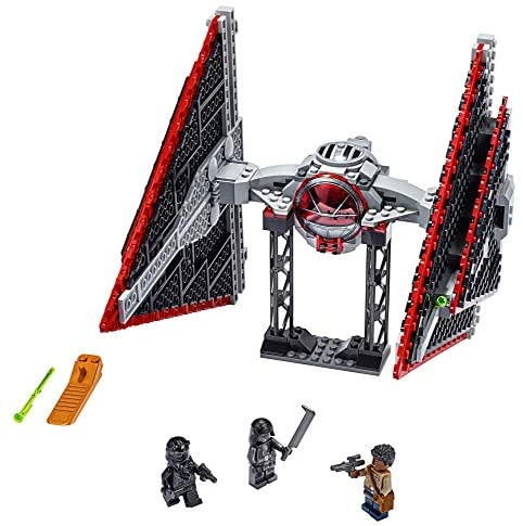 51f7nj B 3L. AC  - LEGO Star Wars Sith TIE Fighter 75272 Collectible Building Kit, Cool Construction Toy for Kids, New 2020 (470 Pieces)