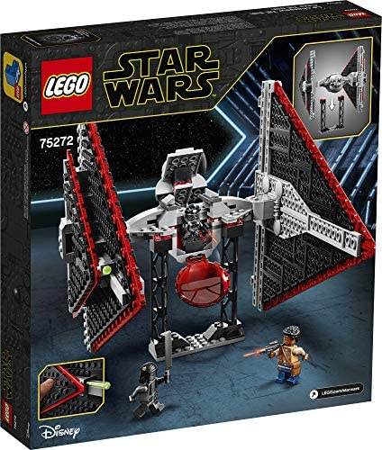 51s4UQDsAIL. AC  - LEGO Star Wars Sith TIE Fighter 75272 Collectible Building Kit, Cool Construction Toy for Kids, New 2020 (470 Pieces)