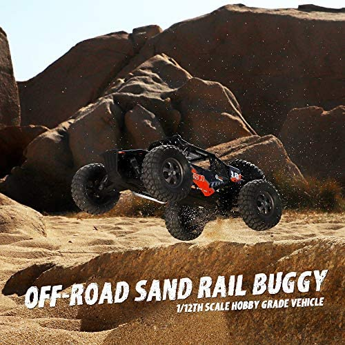 61ctoyU5pGL. AC  - Remote Control Car,1:12 Scale 4x4 RC Cars Protector 38+ kmh High Speed, 2.4 GHz All Terrain Off-Road RC Truck Included 2 Rechargeable Batteries, Ideal Xmas Gifts Remote Control Toy for Boys and Adults