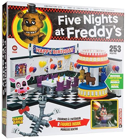 61nLuYWEM+L. AC  - McFarlane Toys Five Nights at Freddy's Game Area Construction Building Kit